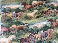 Wild Stalion Horse Print Tapestry Fabric