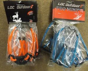 LOC OUTDOORZ Wrist BOW SLING, w/ PSE Archery Logo Color Choice fits any bow .
