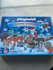 Playmobil 4155 Advent Calendar Animals and Santa Mostly Complete