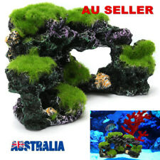 Aquarium Stone Mountain Coral Reef Resin Rock Cave Fish Tank Ornament Decoration
