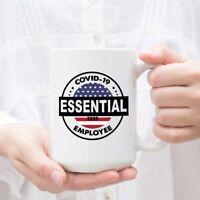 Flag Essential Employee 2020 Ceramic Coffee Mug Tea Cup White