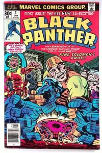 BLACK PANTHER #1 NICE! MARVEL 1977 BRONZE 1ST SOLO SERIES KIRBY