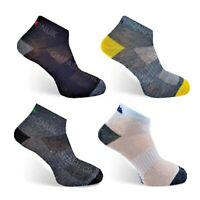 3 Pairs Mens Trainer Liner Sports Gym Running Socks Low Ankle Adults UK 6-11