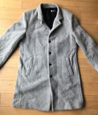 OUTLIER NYC Size XL Men's Gray Grey Strongwool Wool Blend Topcoat Top Coat