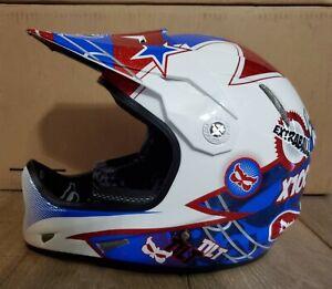 Kali Protectives Avatar Flipper DH Helmet Red/White/Blue