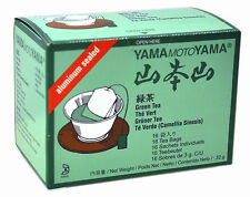 1 pack of YamaMotoYama Aluminium Sealed Green Tea 48g 16 teabags