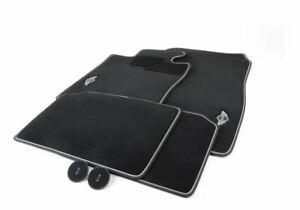 Genuine Mini Cooper R60 R61 Anthrazite Black Floor Mats 51472211082 Set Of 4 NEW