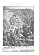 WWI Bataille Verdun Coloniaux Tirailleurs Marocains Fort Douaumont ILLUSTRATION