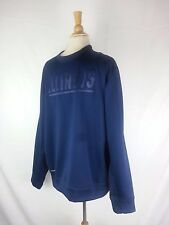 Illinois Fighting Illini therma Fit Pullover Sweatshirt Size L Large Navy Blue