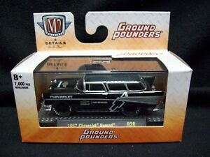 M2 Machines Ground Pounders 1957 Chevy Nomad.