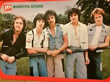 Rosetta Stone, John Travolta, double Full Page Vintage Pinup