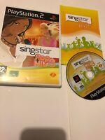 😍 jeu playsation 2 ps2 ps3 pal fr complet notice singstar pop hits 3