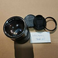 Canon FD 135mm F2.8 Telephoto New FD Lens SERIAL: 24453 (UNTESTED->NOT WORKING)