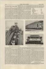 1921 di carico carbone vegetale Norfolk Sewell Mule AUTO Pusher