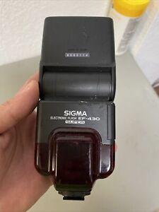 Sigma EF-430SA Flash Shoe Mount For Sigma