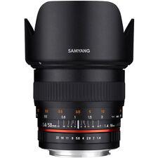 Samyang 50mm F1.4 AS UMC Lens in Fuji Fit