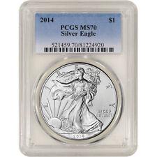 2014 American Silver Eagle - PCGS MS70