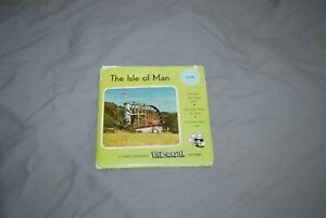 SAWYERS  VIEWMASTER PACKET REF C 278 THE ISLE OF MAN  3 REEL SET