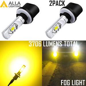 Alla ETI-LED 880 Golden Yellow Cornering|Fog Light Bulb,3000K Improve Visibility