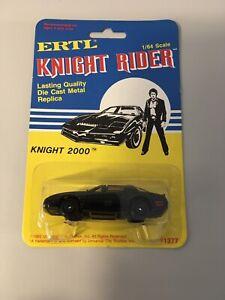 Knight Rider Car Kitt 1982 By Ertl. Sealed On Card