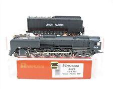 HO Scale Rivarossi 5429 UP Union Pacific 4-8-4 Steam Locomotive #844 w/ Tender
