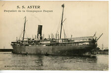 Cie de Navigation Paquet's ASTER of 1919  (ex-Cie Mixte CAYO MONO of 1893)