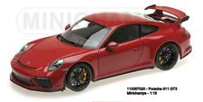 Minichamps 110067020 - Porsche 911 GT3– 2017– Red W / Negro Ruedas L. E. 666 P