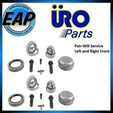 For 190E 260E 300CE 300D 300E 300TD 560SL E300 E320 Pair Front Wheel Bearing Kit