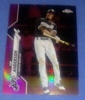 2020 Topps Chrome Pink Refractor #90 Tim Anderson - Chicago White Sox