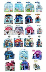 Kids Character Breakfast Disney Paw Pat Frozen 3PC Set-NEW but Damaged Packaging