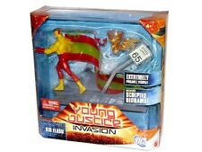 """DC Universe YOUNG JUSTICE Mattel Animated KID-FLASH 6"""" Action Figure Set SEALED"""
