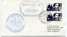 1987 Ant VI Polarstern Georg Von Neumayer Station Polar Antarctic Cover
