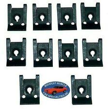 GM Body Fender Dash Factory Correct #8 Screw Bolt U Clips J Nut Nuts 10pcs R