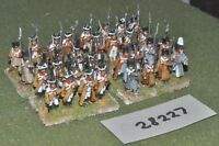 25mm napoleonic / russian - line 32 figures - inf (28227)