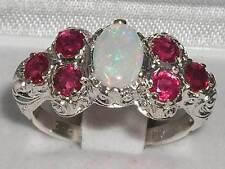 Ruby Silver Vintage Fine Rings