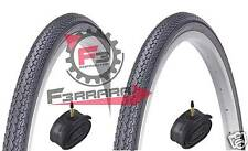 664) 2 TIRES 26 x 1 3/8 37-590mm BLACK DRIVING + ROOMS FOR BICYCLE BIKE