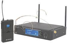 CITRONIC MU16N UHF WIRELESS 16-CHANNEL NECKBAND SYSTEM RADIO MICROPHONE