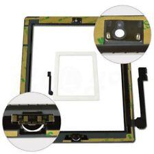 Blanco de Repuesto Para Ipad 3 Pantalla Táctil 4 Frontal Digitalizador Botón De Inicio