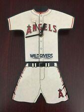 Anaheim Angels Baseball Jersey Clock Sga May 2007 Mlb
