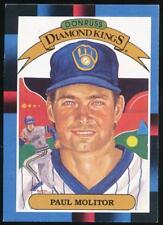 1988 Donruss Diamond Kings #7 Paul Molitor Milwaukee Brewers