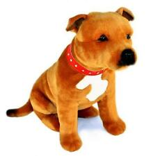 Staffy Staffordshire Bull Terrier Plush Soft Toy 12