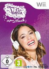 Disney Violetta: Rhythmus und Musik (Nintendo Wii,)  NEU & OVP