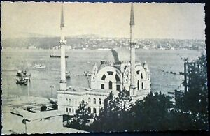 1930s B&W Dolmabahce Mosque, Historic Location, Istanbul, Turkey