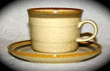 Two Couture styled by Mikasa Homespun Countryside Cup & Saucer sets J7801