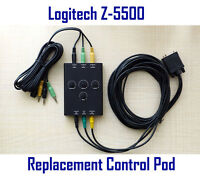 Logitech Z-5500 Speakers Replacement Control Pod  Post636 Subwoofer Wired Remote