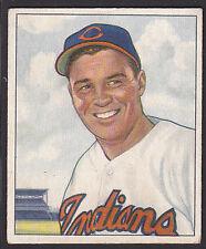 1950 Bowman #93 Henry Gene Bearden Cleveland Indians baseball card