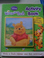 WINNIE THE POOH disney Activity book : inc over 20 stickers & jigsaw