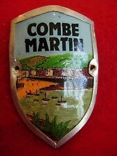 Combe Martin used badge stocknagel hiking medallion mount G5233