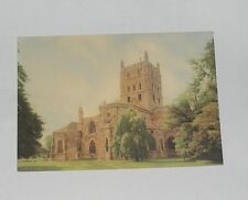 Gloucestershire - The East Lawn, Tewkesbury Abbey - Old Postcard