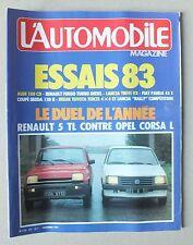 L AUTOMOBILE MAGAZINE - N° 437 - NOVEMBRE 1982 *